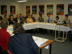 Group discussion @ UWA Agents' Workshop
