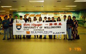 University of Wollongong July 1995 Intake