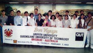 QUT/Griffith University - Feb 1993 Intake