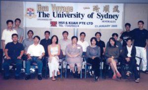 U Sydney Feb 2000 Intake