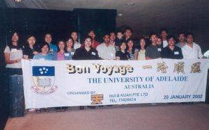 U Adelaide, Feb 2002 Intake